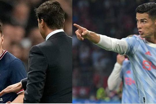 Đá 3 trận, Ronaldo ghi 4 bàn, Messi sút chạm xà ngang 2 lần và 'bật' HLV