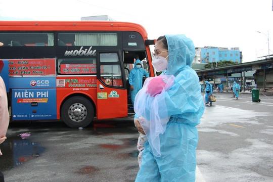 Thêm 800 người dân từ Đồng Nai về quê Phú Yên tránh dịch