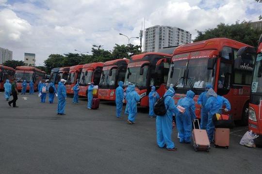 TP.HCM lên phương án đón người lao động các tỉnh thành trở lại làm việc