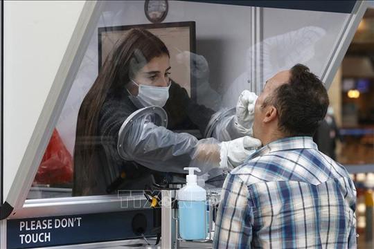 Israel dự định xét nghiệm COVID-19 qua nước bọt