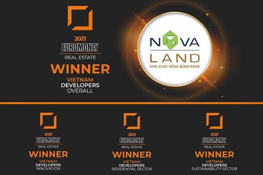 """Novaland được vinh danh """"Nhà phát triển bất động sản xuất sắc Việt Nam 2021"""""""