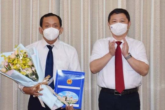 Giám đốc Bệnh viện Nhân dân Gia Định được bổ nhiệm làm Phó giám đốc Sở Y tế TP.HCM