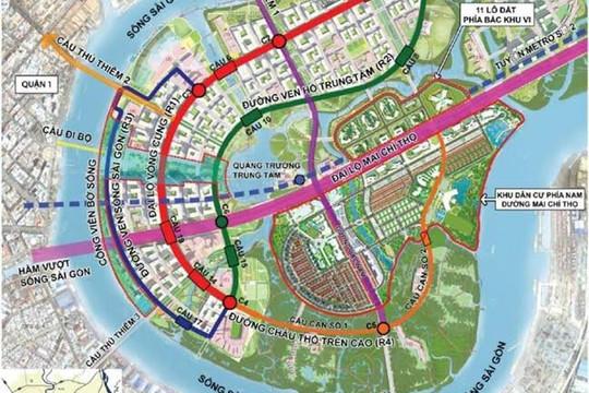 Người dân TP.HCM ngày đêm mong mỏi 4 cây cầu trọng điểm