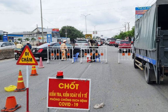 Người tỉnh khác vào Bà Rịa - Vũng Tàu không cần xuất trình kết quả xét nghiệm SARS-CoV-2