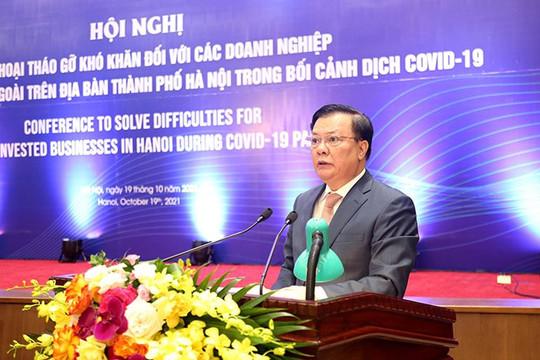 Bí thư Hà Nội: Chính quyền sẽ bảo đảm quyền và lợi ích chính đáng của nhà đầu tư
