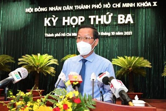 Chủ tịch UBND TP.HCM Phan Văn Mãi: Tiêm vắc xin cho trẻ trên nguyên tắc tự nguyện