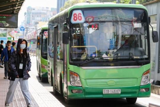TP.HCM: Thêm 8 tuyến xe buýt sắp hoạt động trở lại