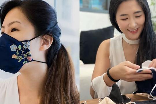 Cô gái Singapore làm khẩu trang từ chất thải thực phẩm, dung dịch sát khuẩn 'xanh' an toàn cho trẻ nhỏ