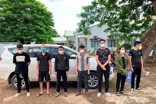An Giang đấu tranh với việc đưa người xuất cảnh trái phép sang Campuchia giữa dịch