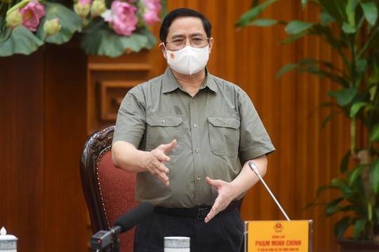 Thủ tướng yêu cầu kiểm tra, xử lý các thông tin phản ánh về công tác phòng, chống dịch COVID-19
